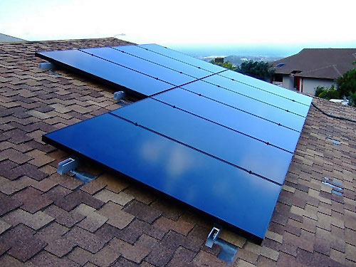 SunPower PV Panels on Wailuku House