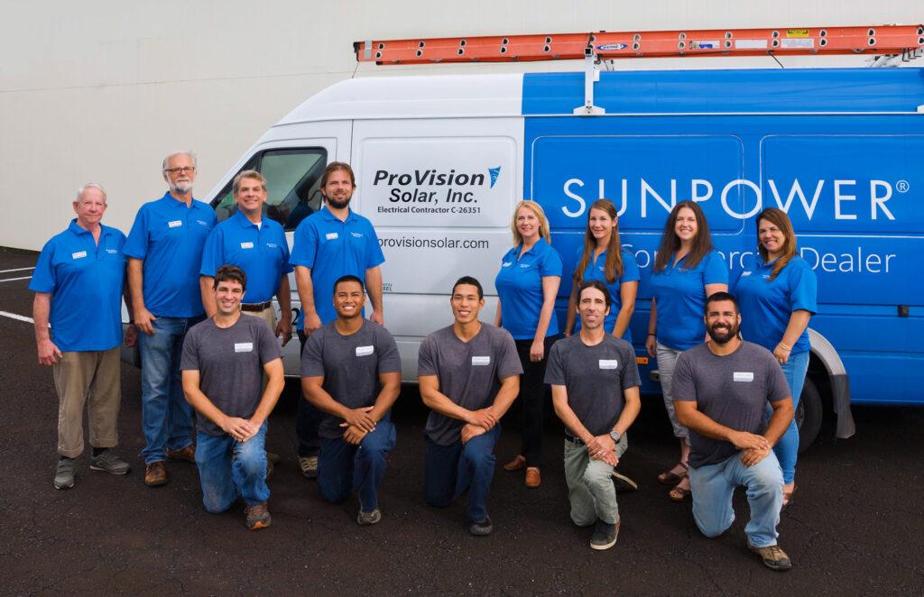ProVision Solar Staff Photo