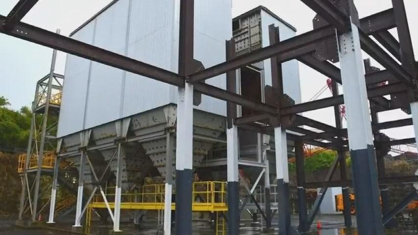 Hu Honua Power Plant in Pepeekeo