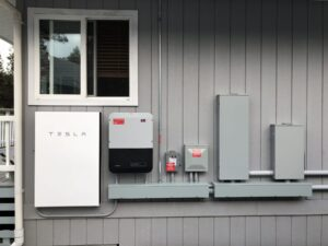 Tesla Powerwall and Inverter installed