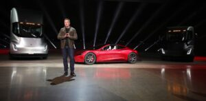 Tesla Semi Unveil Event