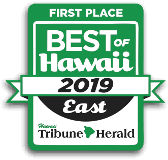 First Place! Best of East Hawaii