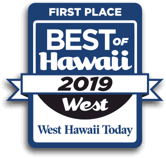 First Place! Best of West Hawaii